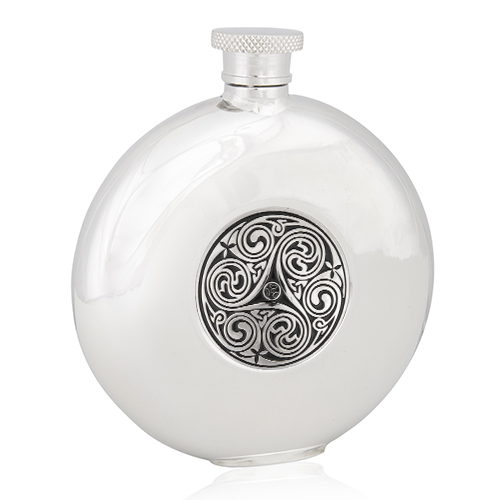 Triple Swirl Round Flask