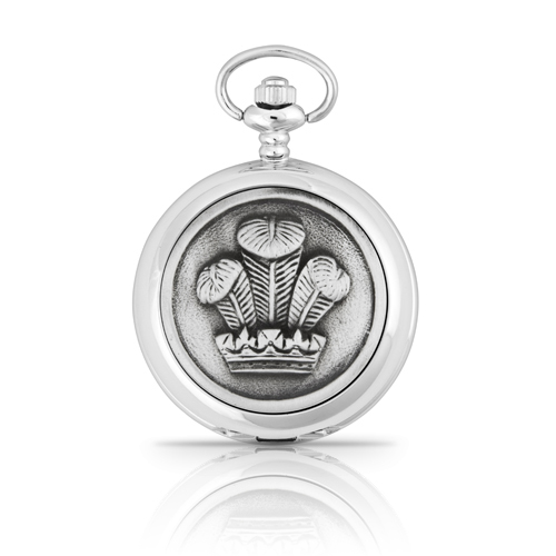 Welsh Feathers Mechanical Pocket Watch