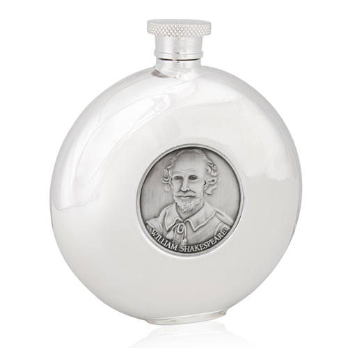 William Shakespeare Round Flask